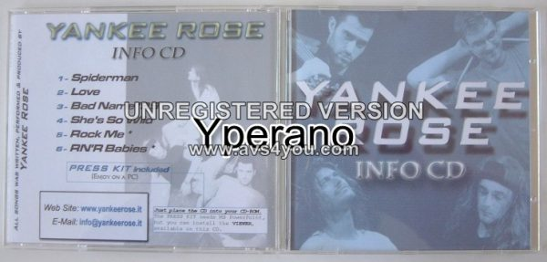 YANKEE ROSE CD