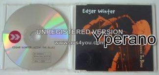 EDGAR WINTER: Jazzin The Blues PROMO CD! S