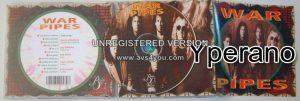 WAR PIPES: s.t, 1st, debut CD. Bluesy Hard Rock. s