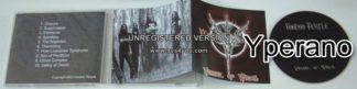 VOODOO TEMPLE: Vessel of Wrath CD.. U.S Heavy Metal / old + new school metal.