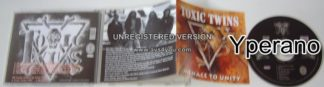 TOXIC TWINS: Menace To Unity CD. True traditional Metal. s (all songs)