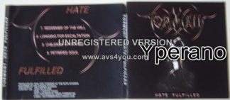 TORMENT: Hate fulfilled CD Free for orders of £15+