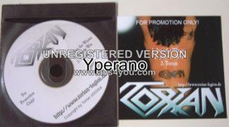 TORIAN: Promo CD German Power Metal. Free for orders of £15+