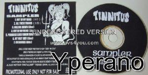 TINNITUS: s.t promo CD