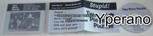 TWO PIECE PUZZLE: Stupid! [A.O.R promo from Sweden]. Free for orders of £20+
