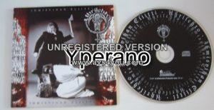 UHRILEHTO: Ihmisvihan Eliitti CD. BLACK METAL. s.