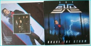 SHY: Brave The Storm [1985 LP. Soaring vocals a la Geoff Tate] Check video clip.