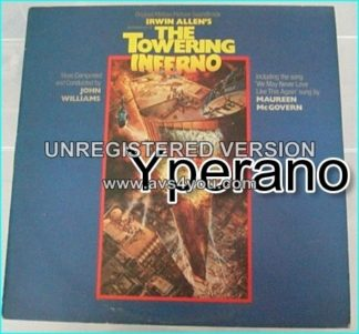 THE TOWERING INFERNO (John Williams) Original Motion Picture Soundtrack LP