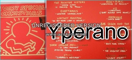 Various: A Very Special Christmas LP. Bryan Adams, Bon Jovi, Pretenders, Springsteen, Sting, U2 etc.
