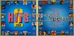 Various: Hits 2 - The Album (gatefold double vinyl, 1985 LP Compilation) 28 tracks.