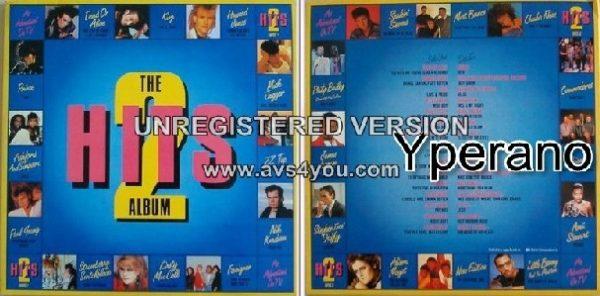 Various: Hits 2 - The Album (gatefold double vinyl, 1985 LP Compilation) 28 tracks.