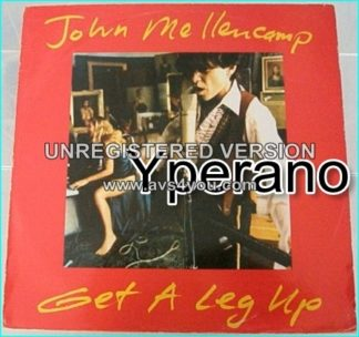 "JOHN MELLENCAMP: Get a leg up 12"" E.P vinyl. Check sexy video"