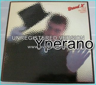 BRAND X: is there anything about LP. Genesis drummer Phil Collins. Fusion, Jazz-Rock, Art Rock.