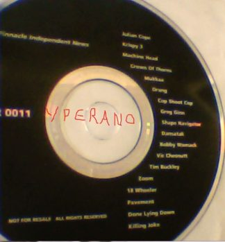 Pinnacle Independent News CD Ultra RARE PROMO. Machine Head, Crown of Thorns, Killing Joke, etc. s