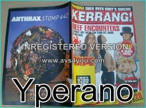 KERRANG 569 Oct.1995 Nirvana, Offspring, Reef, Ash, Metallica, Def Leppard, Alice In Chains, Fear Factory, Skid Row, Therapy