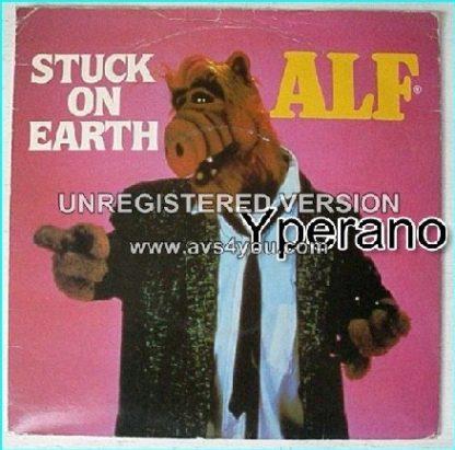"ALF: Stuck on Earth + Cruisin' On Melmac Interstate [Funny little alien creature, funny little record] 7"""