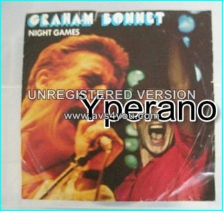 "Graham BONNET: Night Games 7"" singer with RAINBOW, MSG, ALCATRAZZ etc. Check video. + 3 Whitesnake / Deep Purple members"