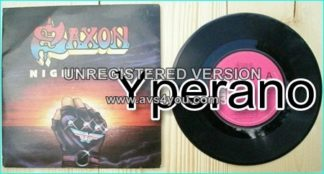 "SAXON: Nightmare 7"" + Midas Touch [N.W.O.B.H.M] Check video."