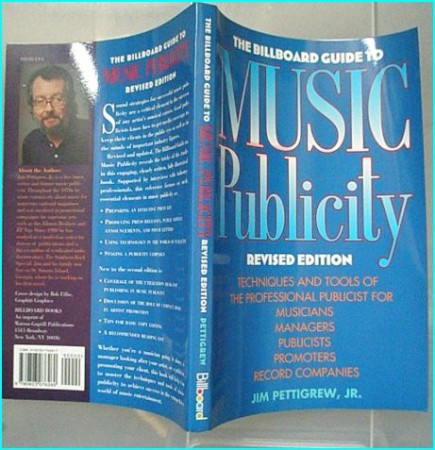 Billboard Guide to Music Publicity. Techniques & tools of the pro publicist for Musicians, Managers, Publicists,Promoters-BOOK