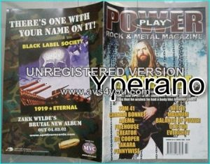 Powerplay magazine 31, March 2002 Zakk Wylde on cover, Sum 41, Graham Bonnet, Adema, Firehouse, Kreator, Judas Priest