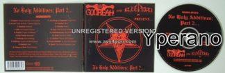 NO HOLY ADDITIVES part 2. CD Killer, rare 1998 Compilation. Thrash, Death, Doom, Black Metal UK bands.