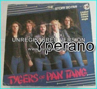 "TYGERS OF PAN TANG:The Story So Far 7""EP, 1981, UK N.W.O.B.H.M"