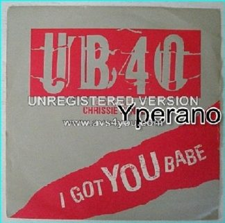 "UB 40 Chrissie Hynde: I got you babe + Theme from labour of love 7"" Check video. HIGHLY RECOMMENDED"