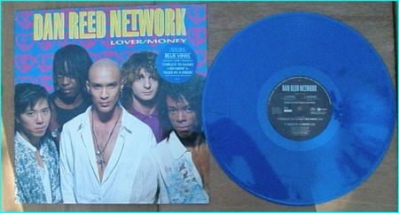 Dan REED NETWORK Lover Money live versions of Forgot to make her mine Tiger in A dress BLUE VINYL. Check videos