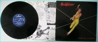 MAX WEBSTER: Universal Juveniles [Mega pomp / epic rare 80 LP, with Geddy Lee, RUSH bassist/singer] CHECK AUDIO SAMPLE.