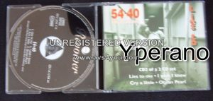 54¢40 : Lies To Me CD2 Mega Canadian alternative rock. RARE VIDEOS (Check video)