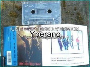 BANG TANGO: Aint No Jive Live [tape] Check samples