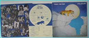 TYGERS OF PAN TANG: Spellbound LP [Classic 1981Inner merchandise promo] Check sample