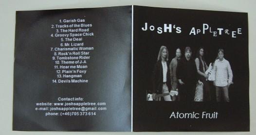 JOSHS APPLE TREE: Atomic Fruit CD Deep Purple, Led Zeppelin, Monster Magnet, FM £0 Free for orders of £18