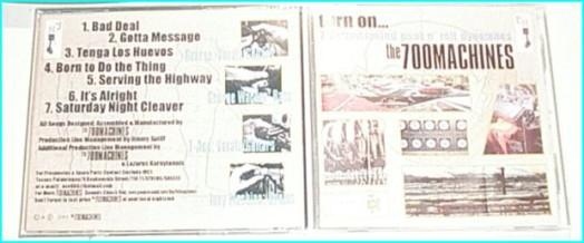 700 Machines: Turn On CD Detroit Proto-Punk, Aussie Punk, 60s Garage Punk, psychedelic, 70s Hard Rock