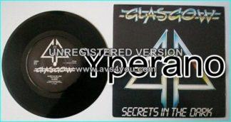 "GLASGOW: Secrets in the Dark 7"" + Meet me halfway. N.W.O.B.H.M band's last ever single."