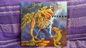 ELIXIR: Lethal Potion LP in mint condition. 1990, w. CLIVE BURR Iron Maiden drummer. N.W.O.B.H.M. Check sample