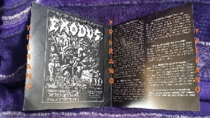 EXODUS: Another Lesson in Violence CD. Signed, Autographed. Best Thrash Live album ever + Metallica song!