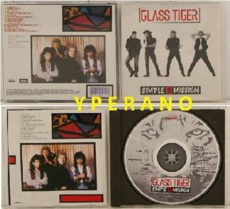 GLASS TIGER: Simple Mission CD A.O.R big guns. Rod Stewart guests on vocals. Check VIDEOS