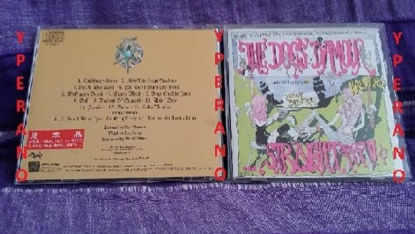 The DOGS D AMOUR: Straight CD Japanese import. Glam- and punk-influenced stonesy rock. Check video