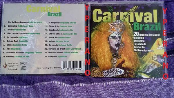 V/A Carnival Brazil CD original 1995. 20 songs, 66 minutes of music. Check samples
