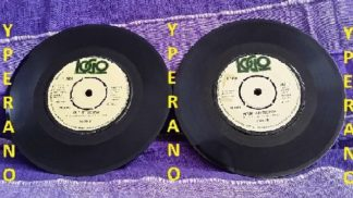 "VARDIS: Lets go DOUBLE 7"" vinyl 1980. no PS. Classic N.W.O.B.H.M CHECK audio."