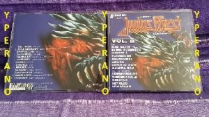 A Tribute to JUDAS PRIEST legends of Metal Vol. II CD Gamma Ray, Virgin Steele, Angra, Overkill, Kreator, Skyclad