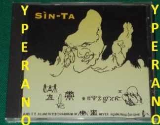 SIN TA: s.t CD. Rare CD. Check sample. Italian Prog Rock + Paul Chain song
