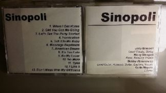 SINOPOLI: s.t CDR [official PROMO] Bon Jovi soundlike cover of David Bowie