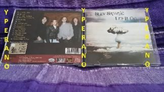 Slav SIMANIC: Let it go 2CD promo (double CD + bonus disc Water Of Life) Talas singer. Christian Metal. Check SAMPLES