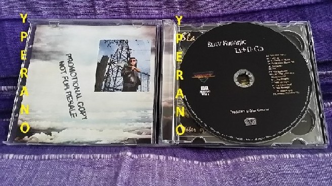 Slav SIMANIC: Let it go 2CD promo (double CD + bonus disc Water Of Life)  Talas singer  Christian Metal  Check SAMPLES