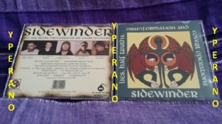 SIDEWINDER: Lies, half truths, misinformation and covert operations CD. a la Led Zeppelin, Last Crack, Soundgarden. Check sample