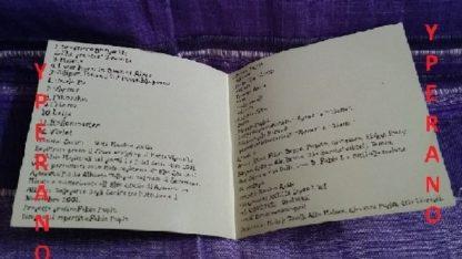SERIFS: Black Magellano CD folk-dark between Nick Cave and Bregovic. Folk / Goth / Pshychedelic