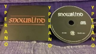 SNOWBLIND: S/T, s.t, 1st, debut 2001 CD. Heavy Doom metal. Nightfall members. Fantastic Spitfire cover song