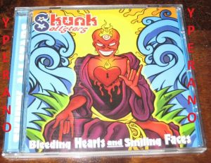 SKUNK ALLSTARS: Bleeding Hearts and smiling faces CD melodic Ska-Punk with influences of Reggae, Dub, Swing, Hardcore, Rock